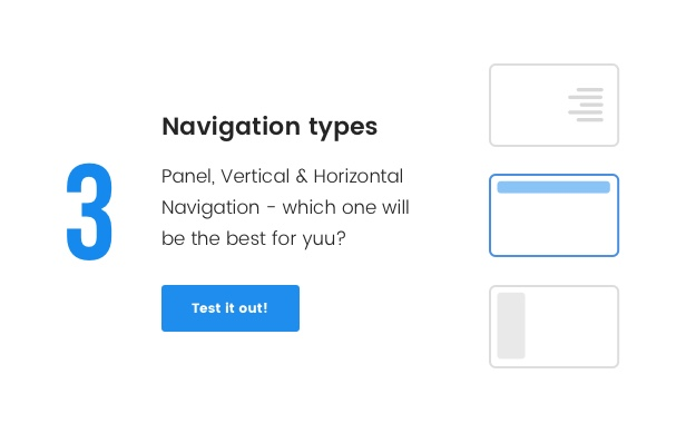 3 types of navigations