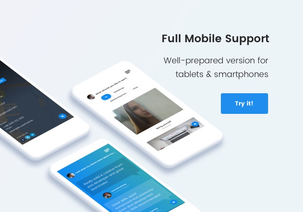 Full Mobile Support