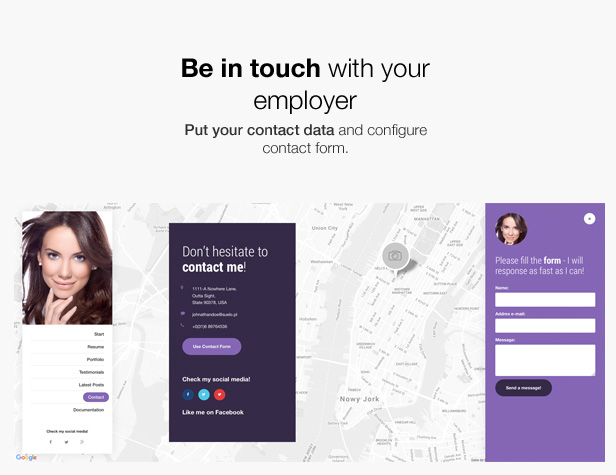 Mi. - Ultimate Personal Resume vCard Template