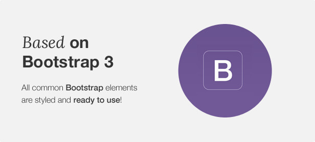 Based on Bootstrap