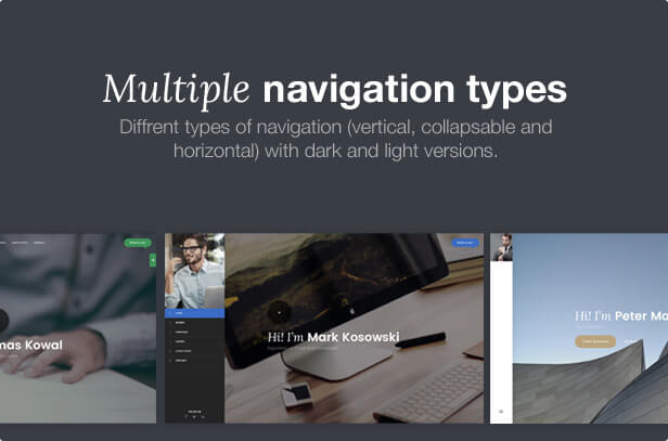 Multiple Navigations